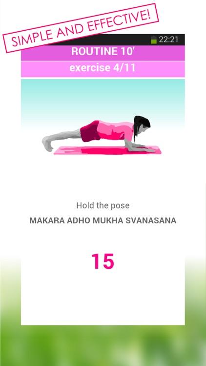 Yoga for women stretching premium screenshot-4