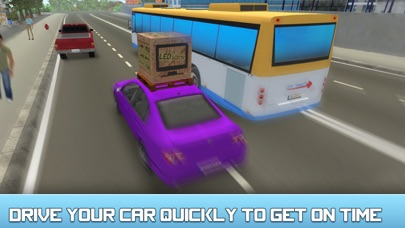City Car Delivery Boy Simulator 3D-2