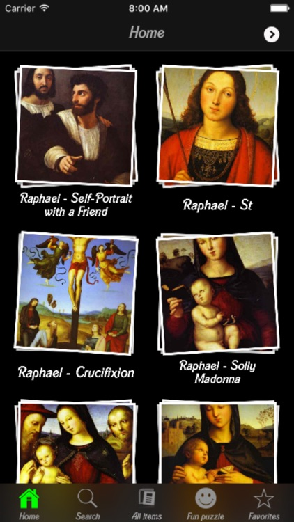Raphael Artworks Info! screenshot-3