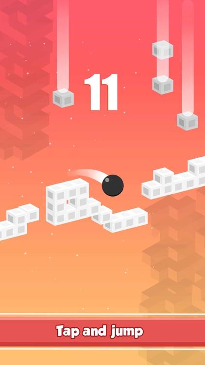 Bouncy Red Ball Jump – King of Endless Arcade Games screenshot-4