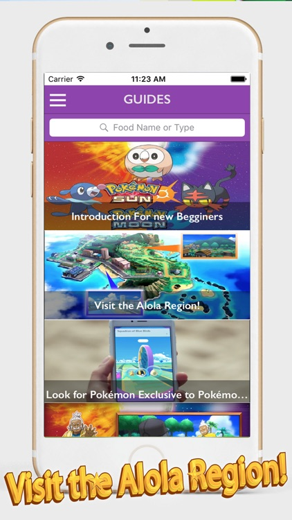 Best Guide For Pokemon Sun and moon