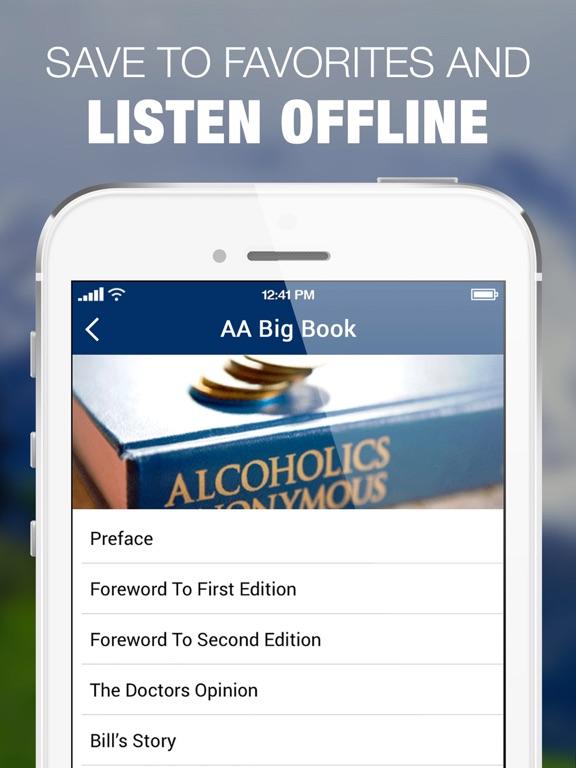 AA Big Book Audio from Alcoholics Anonymous Sober-ipad-2