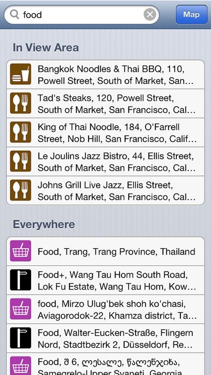 Offline Map & GPS Navigator Free screenshot-3
