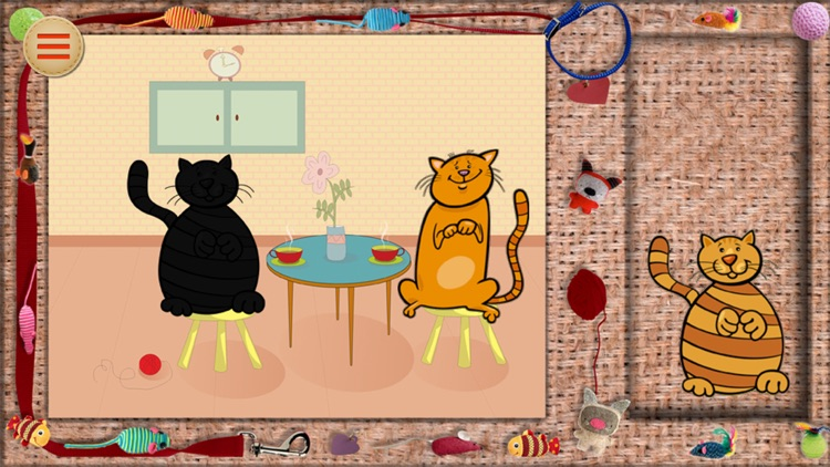 Baby Puzzle: Funny Cat