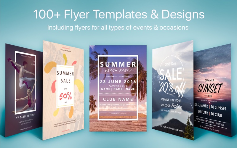 flyer templates designs flyers for word app price drops