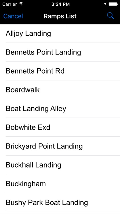 South Carolina: Salt Water Boat Ramps screenshot-1