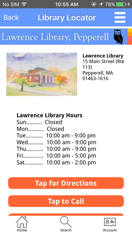 Lawrence Library Mobile screenshot-3