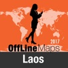 Laos Offline Map and Travel Trip Guide