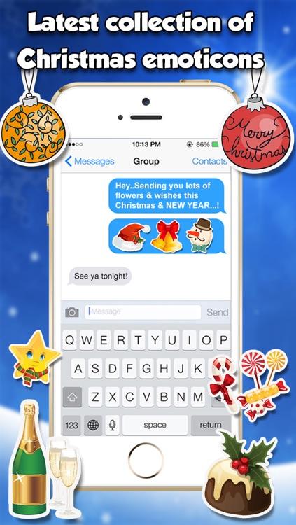 Christmas Emojis & Stickers screenshot-3
