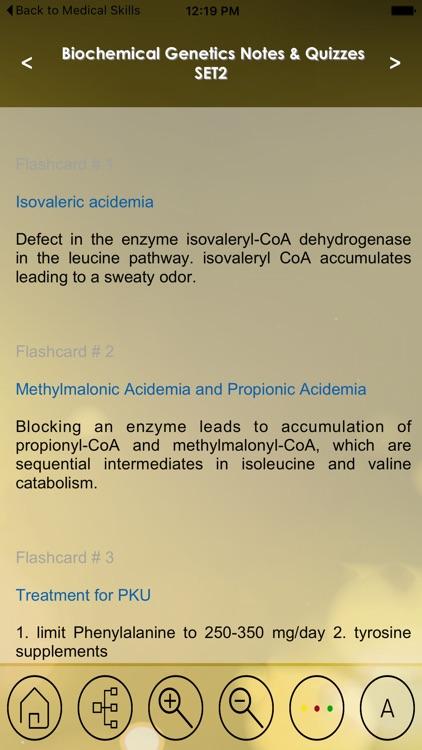 Biochemical Genetics : 1600 Flashcards Notes & Quiz For Exam Prep screenshot-3