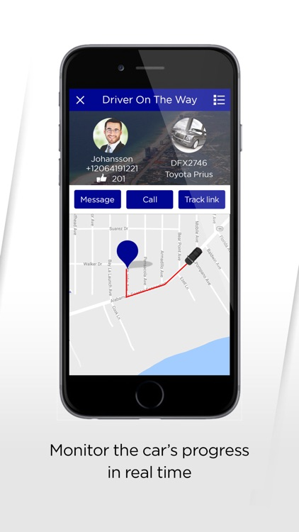 Coast.Cab passenger app screenshot-1