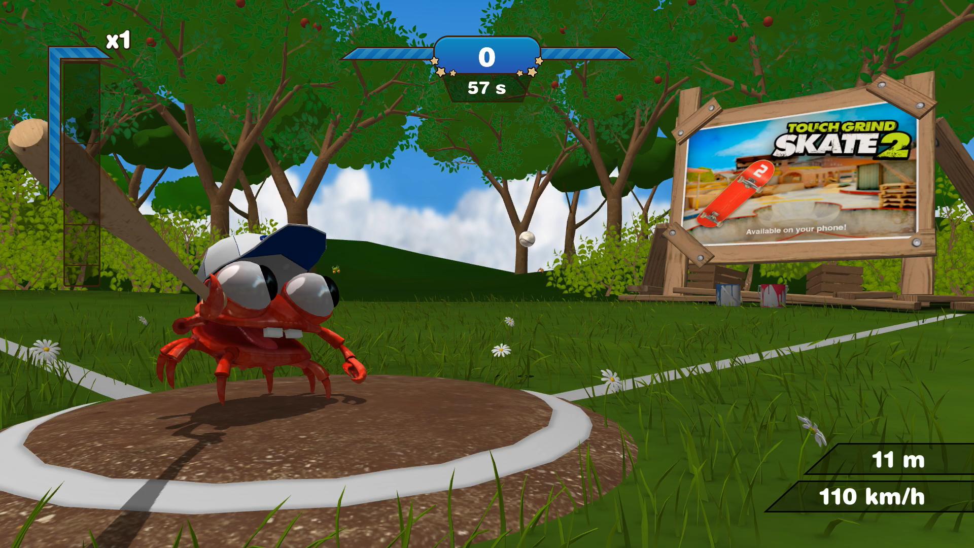 Mr. Crab Baseball screenshot 1