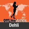 Dehli mapa offline y guía de viaje