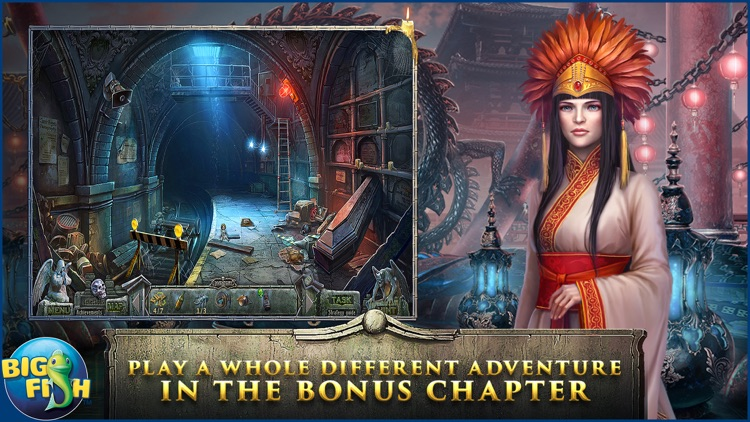 Redemption Cemetery: Clock of Fate - A Mystery Hidden Object Game (Full) screenshot-3