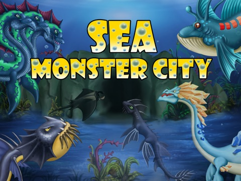 Sea Monster City - Monsters evolution & battle games на iPad