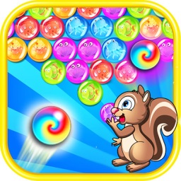 Squirrel  Bubble Shooter Deluxe-Free Bubbles Games