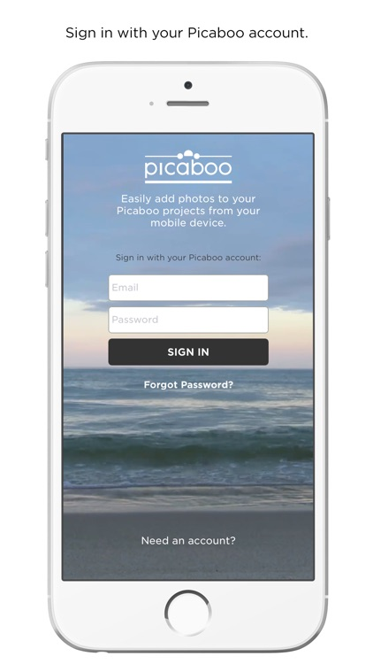 Picaboo - Upload Photos