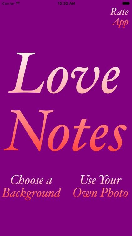 Love Notes: Hand Written Notes screenshot-3