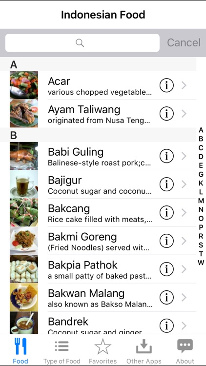 Indonesian Food screenshot-0