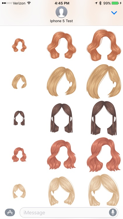 Hairstyles - Sticker Pack