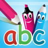 abc PocketPhonics: letter sounds & writing + first words