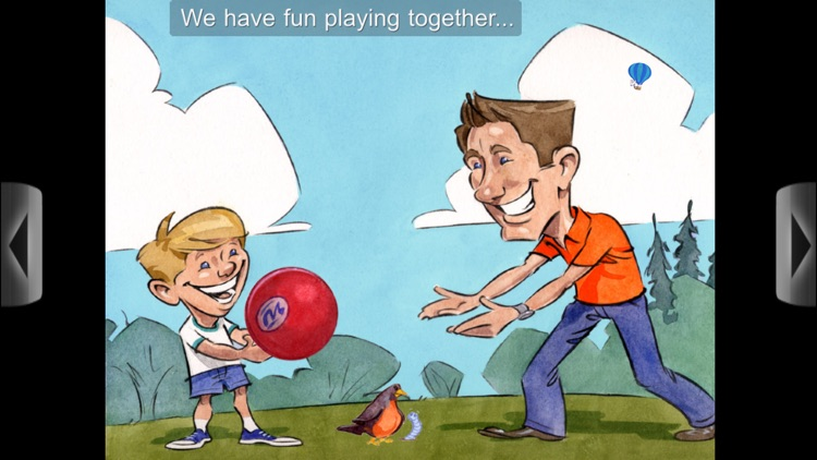 My Daddy - Interactive Book App for Children