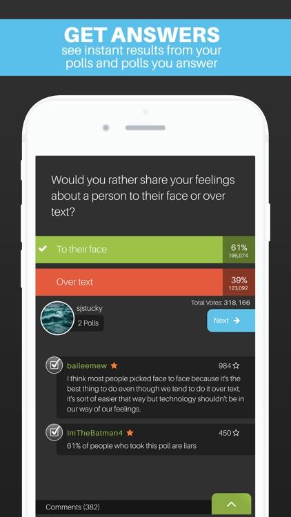 Wonder Polls: Question Everything! Free screenshot-4