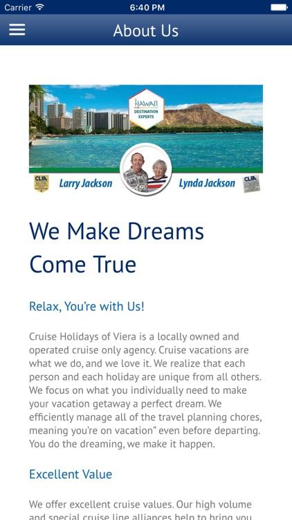 Cruise Holidays Viera screenshot-3