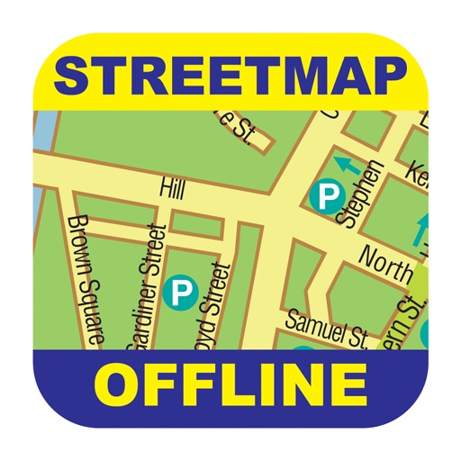 Bruges Offline Street Map