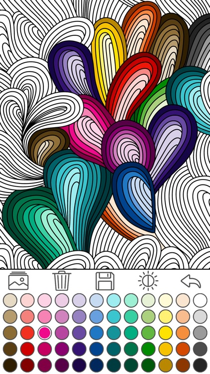 Mindfulness coloring - Anti-stress art therapy for adults (Book 1)