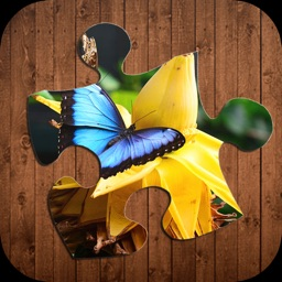 Butterfly Jigsaw Puzzle Game - Amazing Butterflies Puzzle Game for Kids and Preschool Learning
