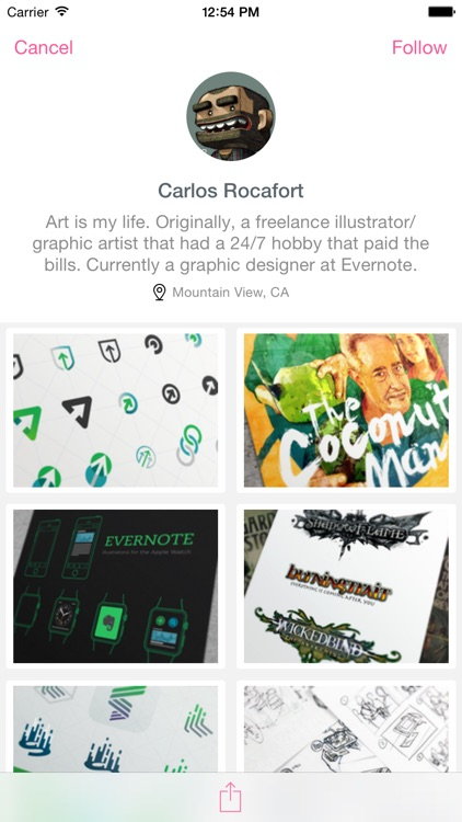 Dribbboard - client for Dribbble screenshot-4