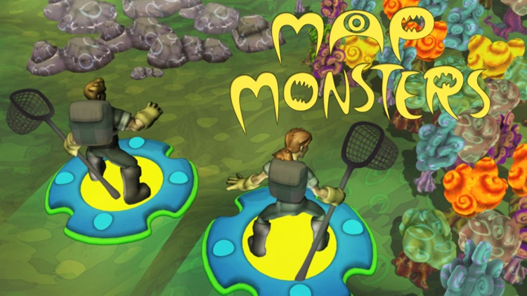 Map Monsters: Poke, Swipe, and Go screenshot-4