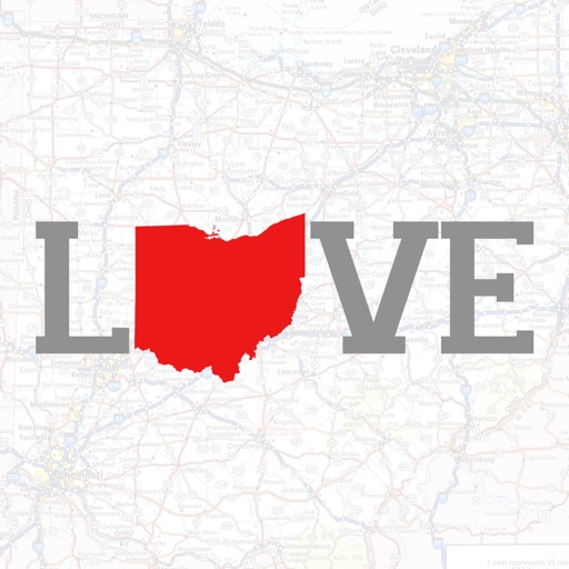 Love Ohio Stickers icon