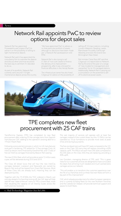 Rail Technology Magazine