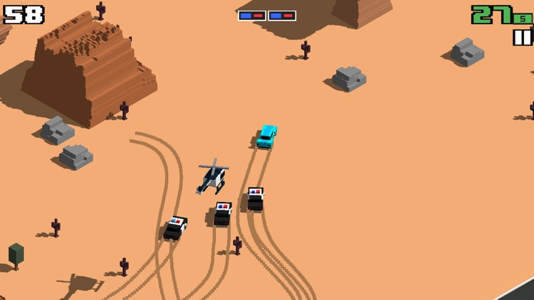 Smashy Road: Wanted screenshot-3