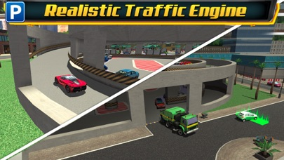 Screenshot from Multi Level 4 Car Parking Simulator a Real Driving Test Run Racing Games