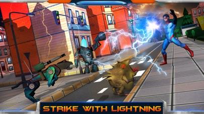 City Heroes 3D: Aliens War screenshot two