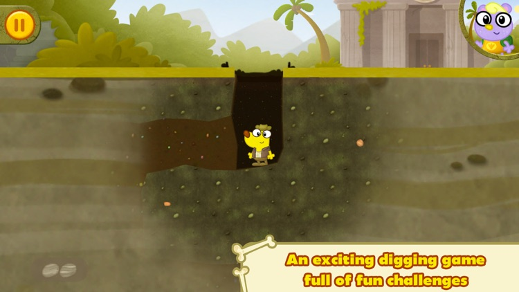Dino Dog ~ A Digging Adventure with Dinosaurs!