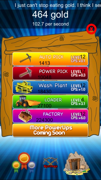 Gold Rush Clicker - Nuggets and Bars Miner Fever screenshot-3