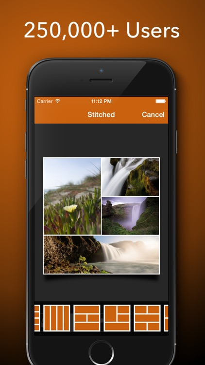 Stitched Lite - Stitch Your Photo To Create Stunning Collages To Share on Facebook, Twitter and Instagram