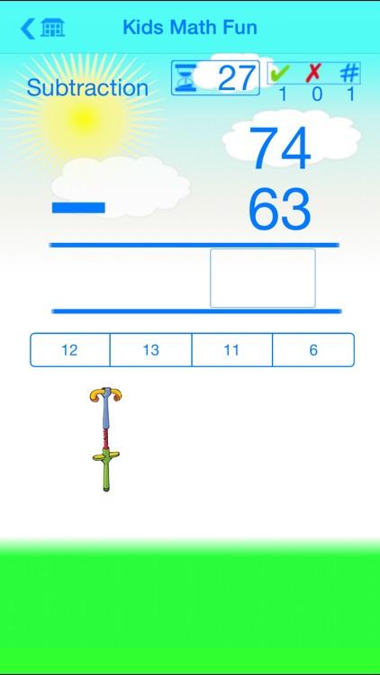 Kids Math Fun — Second Grade