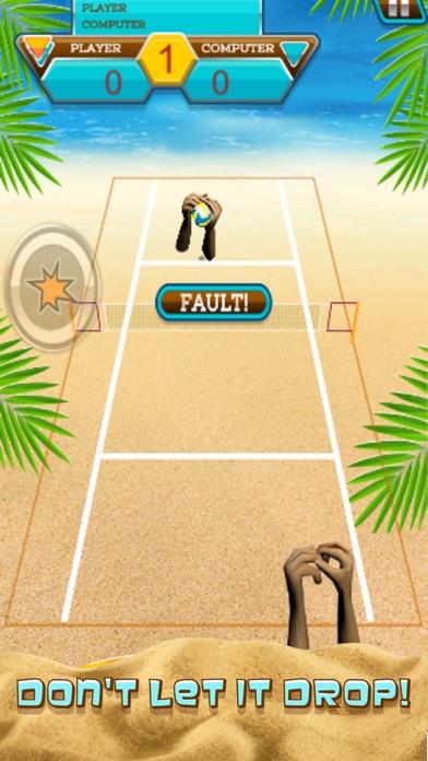 A Volleyball Beach Battle Summer Sport Game-3