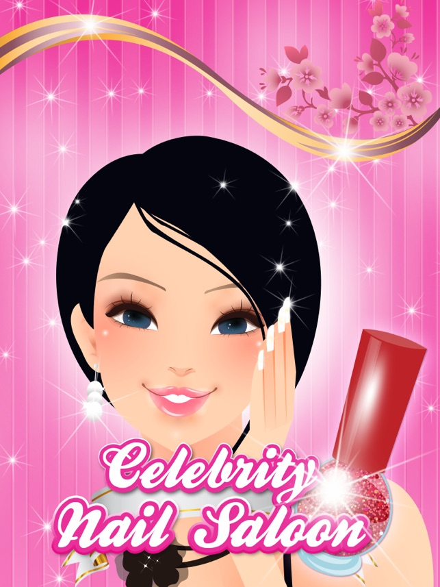 Celebrity Nail Art Salon - Hollywood Star Makeover on the App Store