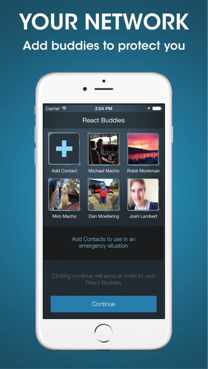 React Mobile – Safety App screenshot-3