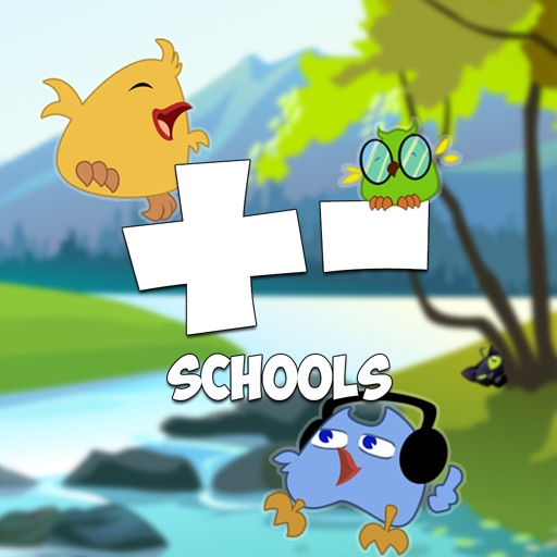 Add & Subtract with Springbird (School edition for elementary school children)