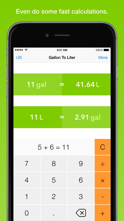 Gallon To Liter, the fastest volume converter screenshot-4