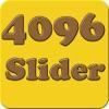 4096 slider puzzle - match adjacent numbers to make tile like 2048 - iPhoneアプリ