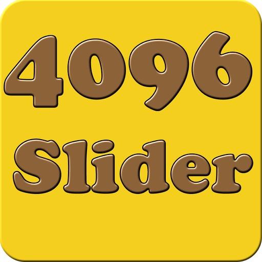 4096 slider puzzle - match adjacent numbers to make tile like 2048