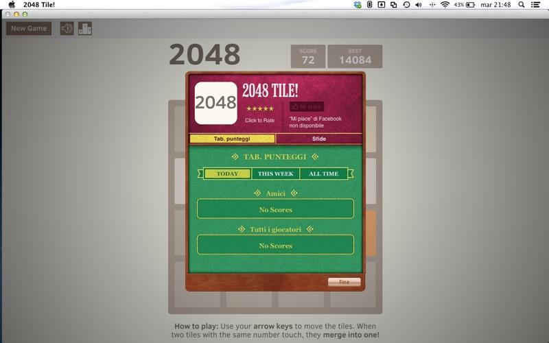 2048 Tile Screenshot
